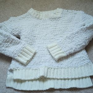 Cream girls sweater